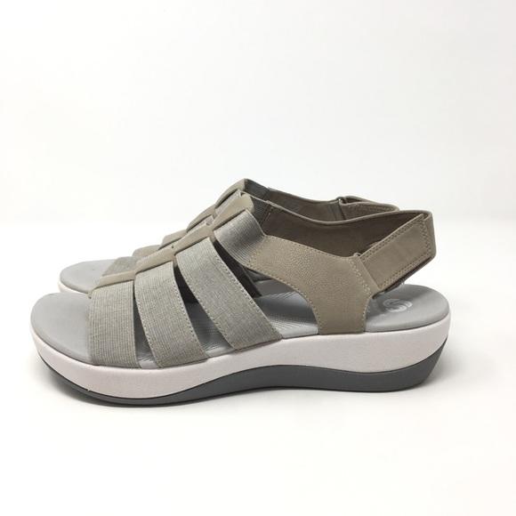 357cd7445e0 Clarks Shoes - Clarks Cloud Steppers Sandals Sz 8.5W Arla Shaylie